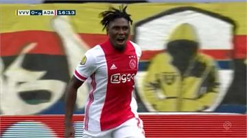 荷甲阿賈克斯13:0狂勝 創歐洲7大聯賽最多紀錄
