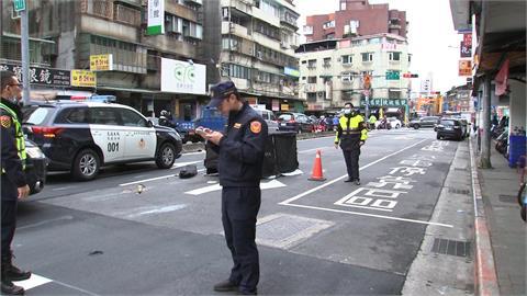 八旬老婦過馬路遭輾斃 公車司機肇逃遭警攔下
