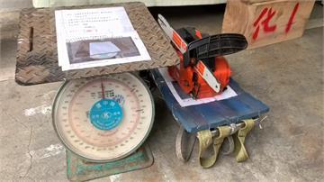 警方破獲一條龍山老鼠集團 查獲市價5千萬珍貴木材