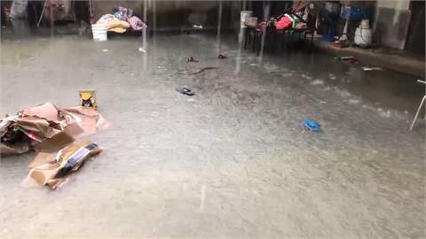 大雨又來!伸港鄉三合院悲情一周淹兩天