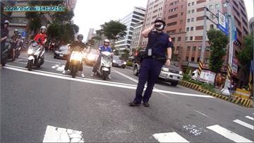 取締違停駕駛加速逃 「豬隊友」投訴執法過當