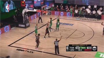 NBA/暴龍0.5秒絕殺3分球 衛冕軍峰迴路轉扳回一勝