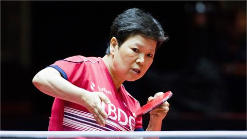 東奧/賽場上演祖孫大戰?58歲桌球阿嬤「5度出征奧運」仍吃敗仗