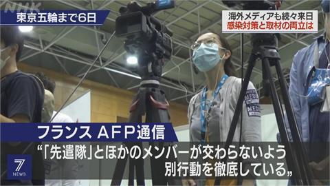 限制遊客觀賽 東京奧運仰賴1.6萬名記者傳播資訊