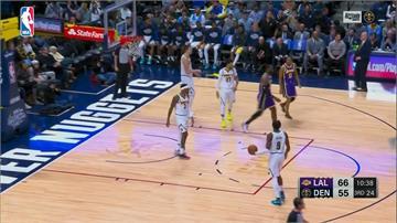 NBA/詹皇大三元、一字眉33分 湖人三連勝結束上半季