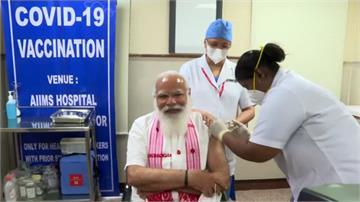 印度第二階段疫苗開打 總理莫迪接種第一劑