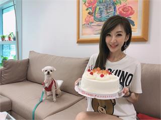 羨慕!羅巧倫嗑3個蛋糕喊增重 生日願望是「今年脫單」