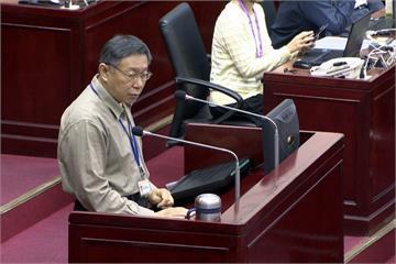 柯文哲上任首中斷總質詢 吳碧珠怒嗆:你不可以鬥議會!