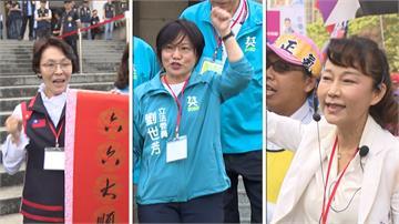 高雄左楠「3女之戰」 3Q哥助攻劉世芳掃街搶票