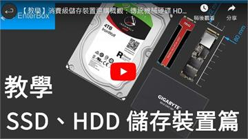 【教學】消費級儲存裝置選購概觀:傳統機械硬碟 HDD、固態硬碟 SSD
