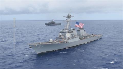 拜登政府任內第7次「美驅逐艦穿越台海」 台日美議員戰略論壇「安倍以神秘身分出席」