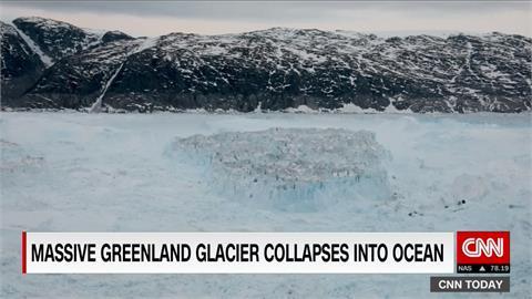 格陵蘭融冰浩劫 單日融冰量可讓佛州淹5公分