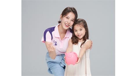 蘇晏霈擔任萬海慈善年度代言人 喊話想生混血寶寶