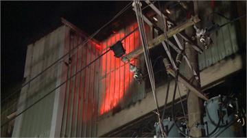 五股化學工廠凌晨竄火 延燒160坪幸無人傷