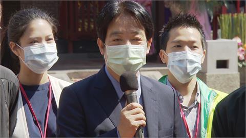 快新聞/傳鄭文燦2022角逐台北市長? 賴清德:黨內會有好的安排