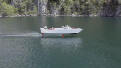 不是科幻電影! 「飛艇」懸空飆速超節能