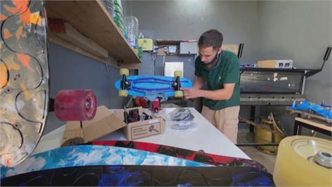 巴西平民窟的環保玩家! 回收塑膠瓶蓋變身滑板