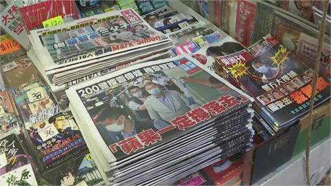 快新聞/香港蘋果日報5董事涉違國安法被捕 港警突襲總編羅偉光住所