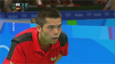 奧運五朝元老莊智淵 16強賽激戰7局飲恨
