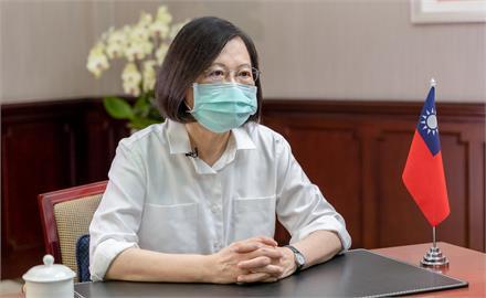 快新聞/感謝日本贈台疫苗 蔡英文:「台日友好」不會因流言蜚語動搖