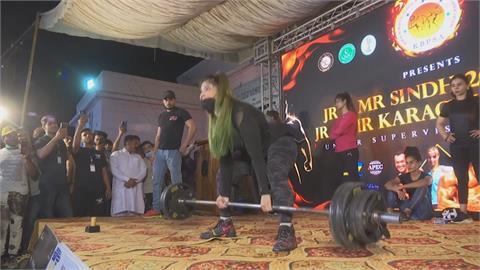 性平調查全球吊車尾 巴基斯坦女性首場健美賽