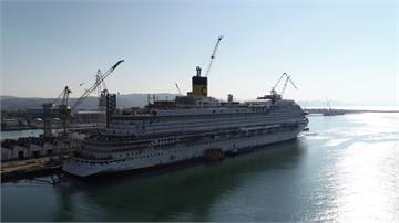 斥資逾250億復刻威尼斯!豪華遊輪首航基隆港
