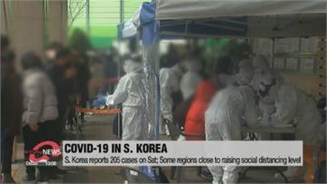 南韓疫情連8天破百 北朝鮮鎖國10個月零確診