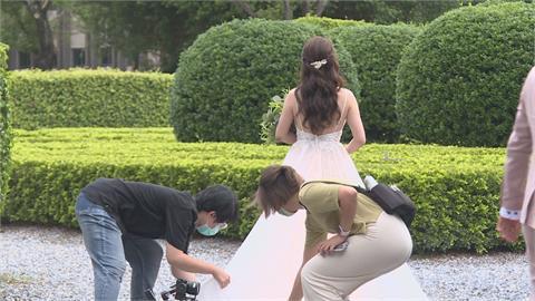拍婚紗也微解封 新人、攝影都要先快篩
