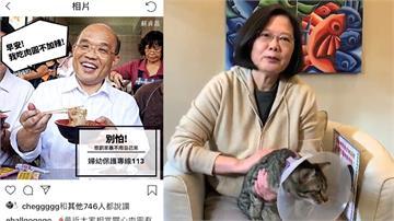 蔡英文、蘇貞昌拚接地氣 臉書、LINE都成發聲管道