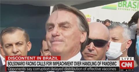 巴西總統波索納洛遭調查 購買Covaxin疫苗疑貪汙