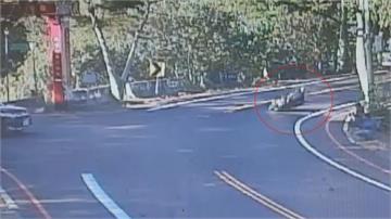 彰化139縣道騎士過彎失控自摔衝對向 遭貨車輾斃「攝手」目睹全看傻