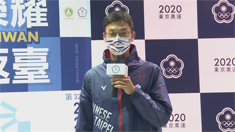 東奧/蔡英文「奧運英雄早餐」份量超多 盧彥勳笑:總統一定覺得我太瘦要補一下