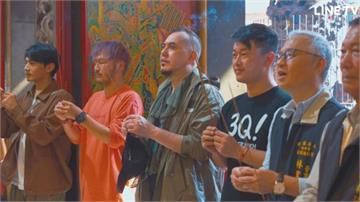 基督徒黃秋生體驗廟宇文化 大讚「台灣寺廟很漂亮」