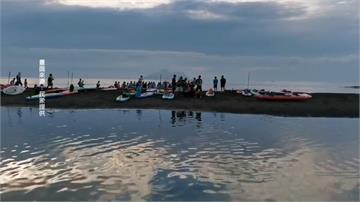 GG了!61名立漿玩家硬闖衝浪區 爽玩龜山島「牛奶海」恐挨罰15萬