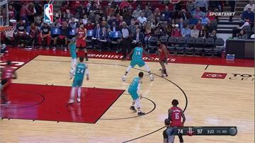 NBA/忍者龜、大鬍子合得63分 火箭大勝灰熊勇奪5連勝