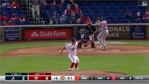 MLB/勇士投手也秀二刀流 滿貫砲外加7局無責失分