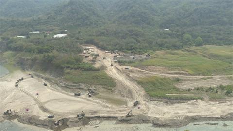 曾文水庫蓄水率11% 軍方進駐協助清淤