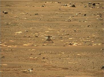 創新號直升機火星首飛 萊特兄弟後人類又一壯舉[影]