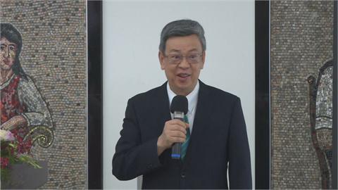 陳建仁參與國產疫苗二期臨床試驗 讚執行嚴謹