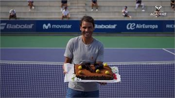 為34歲納達爾慶生 網球學校生嚴守社交距離