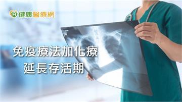 老菸槍專屬肺癌 免疫療法延長小細胞肺癌存活期