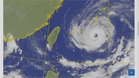 「烟花」向西緩移暴風圈擴大 北部.宜蘭嚴防豪雨