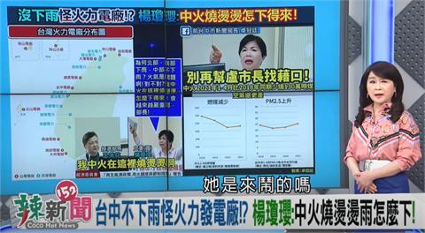 政論精華/楊瓊瓔大嗆「台中不下雨是火力發電的錯!」網譏:你氣象系?|全民筆讚邀稿中