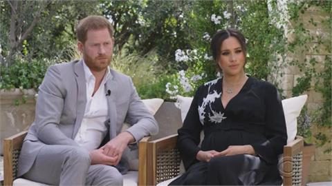 哈利梅根驚世專訪 指王室議論寶寶膚色 歐普拉:無關女王夫婦