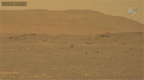 創新號直升機火星上起降 NASA:萊特兄弟時刻!