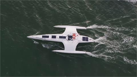 無人駕駛船橫越大西洋 五月花號重啟歷史之旅