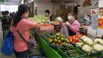受寒害影響蔬菜生長慢產量驟減 絲瓜、花椰菜漲5成 番茄、苦瓜翻倍漲