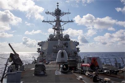 快新聞/今年第9度!美驅逐艦航經台灣海峽 國防部:全程掌握