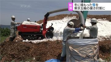 研發「雪空調」東京奧運高溫避暑新招
