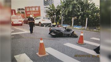 機車超速撞死轉彎自摔騎士「距離僅8公尺」法官判無罪